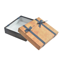 OEM Paperboard gift box packaging box with metallic lock