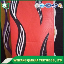 100% cotton super wax printed fabric