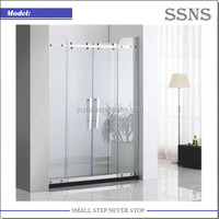 6mm 4 Panel Customize Sliding Glass Shower Door (Crystal-K)