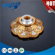 screw type e27 phenolic lamp holder with ring