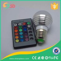 7W LED Small Bulb Lamp OEM Manufacturer Stage Disco Ball Smart Led Rgb Light Bulbs