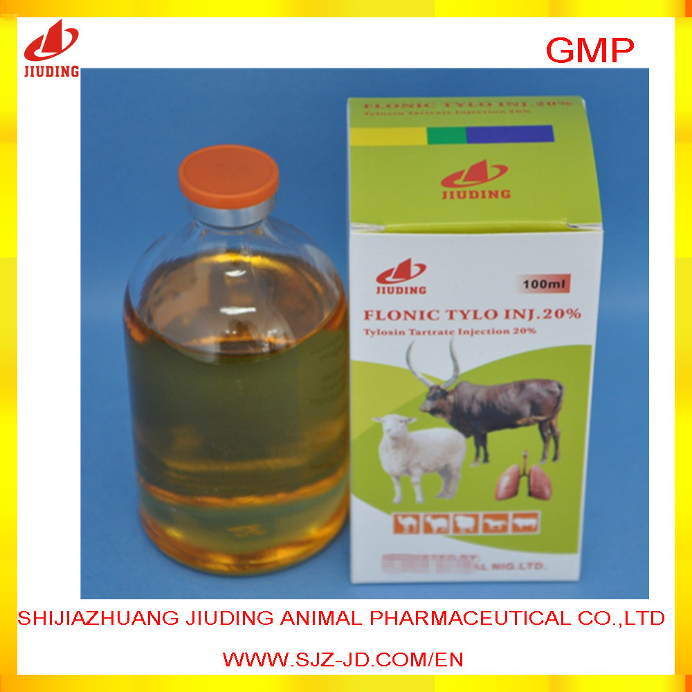 veterinary drug 5% 10% 20% tylosin injection 100ml horse injection