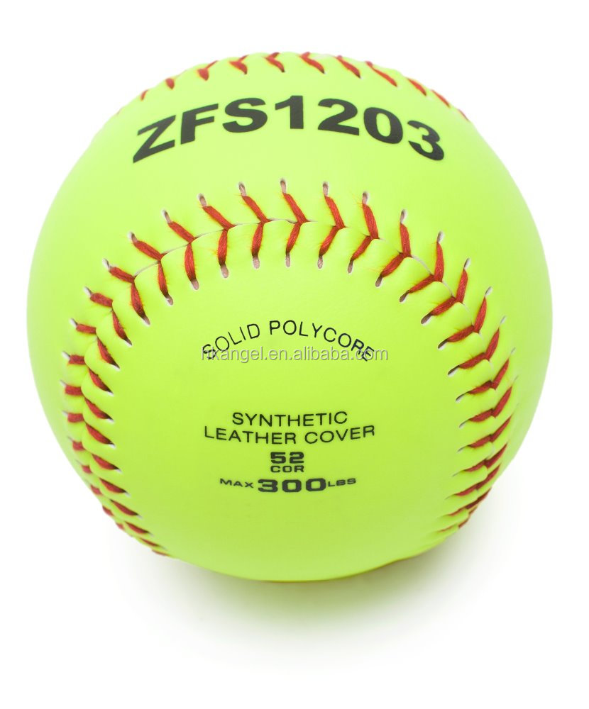 12 Inch Slowpitch Synthetic Leather Softball