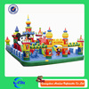 outdoor kids' funny world inflatable playground amusement park
