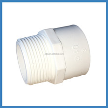 pvc drainage pipe fitting Male Thread Reducing adapter