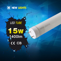 220 Beam Angle LED T8 Tube 1.2m 15w Advertising Box Wide Lighting Area