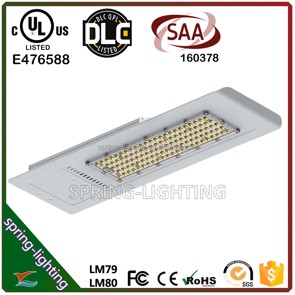 UL CUL DLC listed 120w 150w LED Street Light for private road sidewalk public square plaza campus