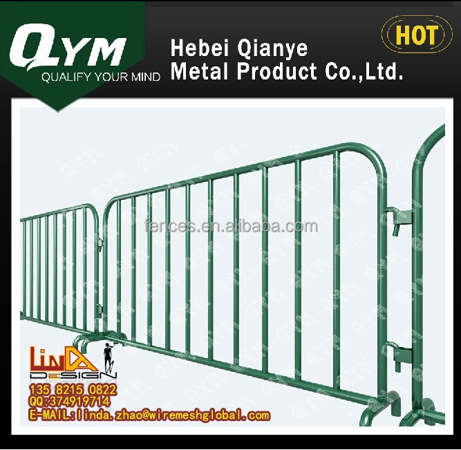 2015 cheap Trade Assurance Alibaba China Hot dipped Galvanized Removable Temporary Fence