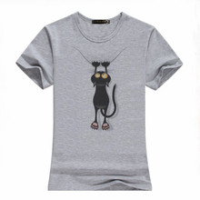 Hot selling durable 96 polyester spandex custom designs hand painted womens t-shirts