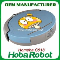 C518 robot vacuum cleaner,Homeba Mid-level M-688C, Robotic Vacuum Cleaner with Auto Charging Dock Station, Virtual Wall
