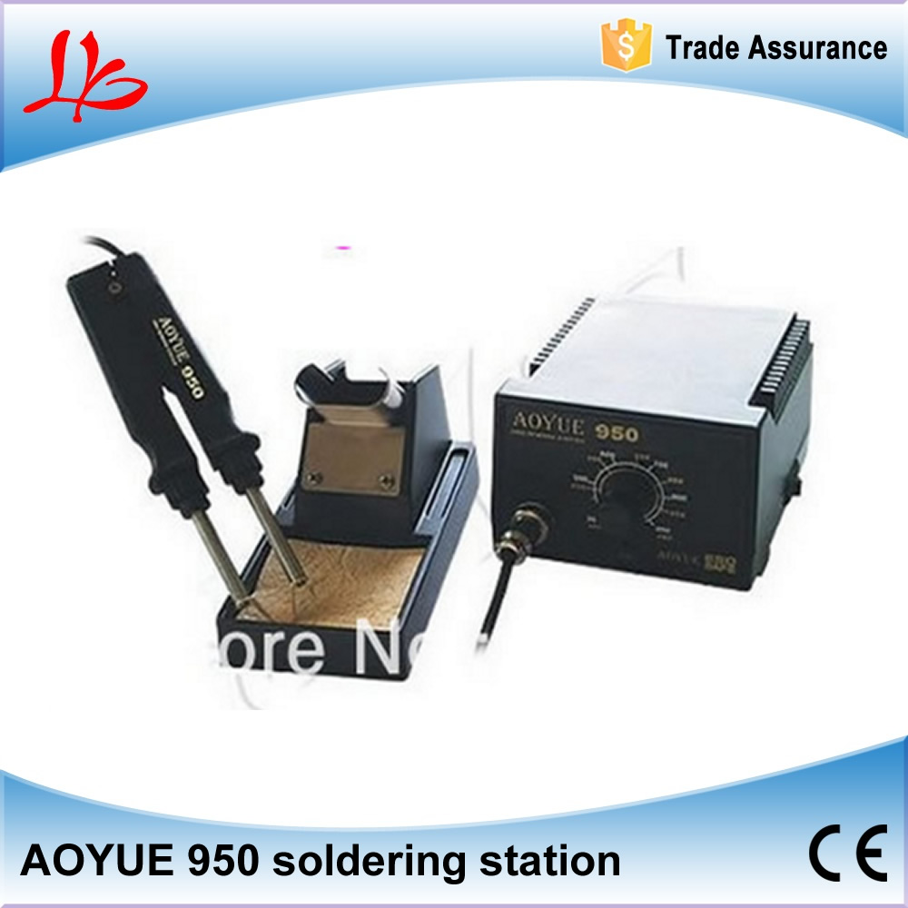 110/220V SMD Hot Tweezer Soldering Station Aoyue 950 solder station bga welding equipment
