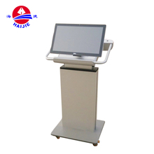 Educational Equipment Digital Modern Metal Lectern Teaching Podium