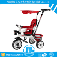 New Fashion pushbar control turning direction baby trikes for sale