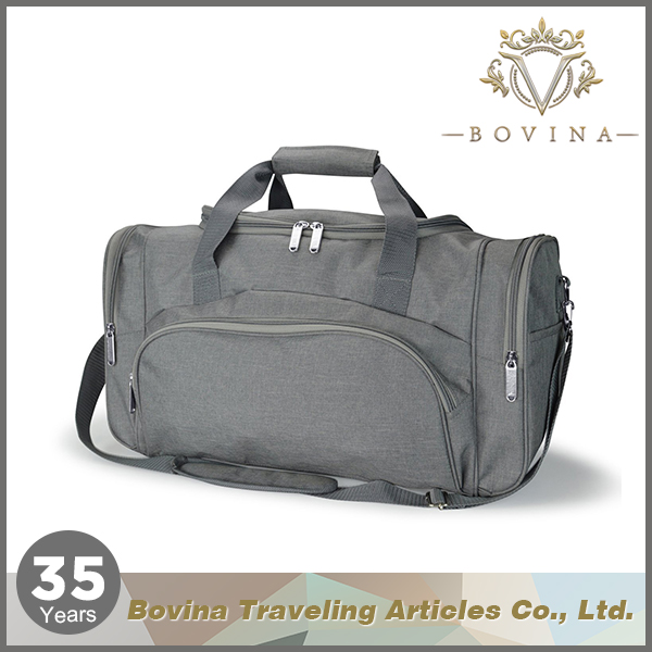 Large capacity durable traveling square polyester travel luggage bags
