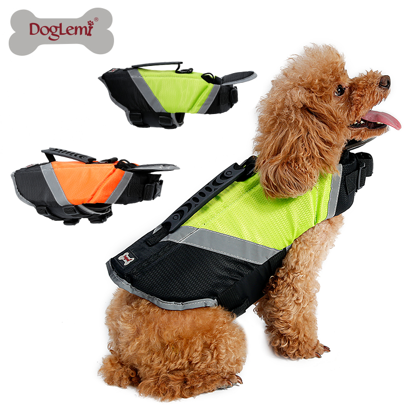 Reflective Pet Dog Swimming Vest Cooling Dog Life Jacket Vest