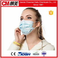 CM Non Woven 3-layer Disponsal Clinical Face Mask