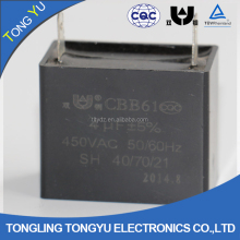 Cbb61 capacitor 450v 8uf fan regulator price