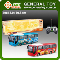 49*13.9*10.8cm 4CH Electric RC Bus Model Toys With Light