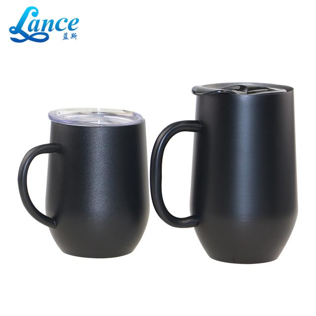 China supplier 14 oz wine kids tumbler mug wholesale with handle
