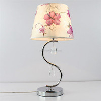 Beautiful Flower Painted Small Empire Table Lamp shade