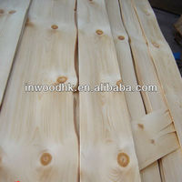 Sliced Cut Chinese Knotty Pine Veneer for Home Furniture