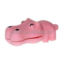 Hippo USB Flash Drive / Hippopotamus USB Flash Drive / Animal USB Flash Drive