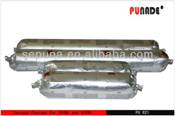 PU821 is low modulus one component polyurethane construction joints concret skip type concrete high temperature glue