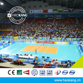PVC Outdoor Volleyball Court Flooring