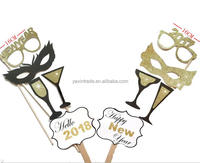 Happy New Year 2018 Photos Funny Photo Booth Props