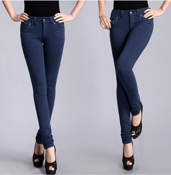 China manufacturer women fashion pencil pants