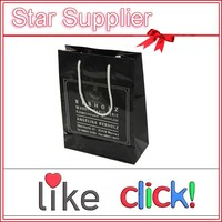 black paper bag, China black paper bag supplier