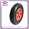 PU polyurethane wheelbarrow tire,rubber wheel 4.00-8