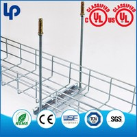New Style Stainless Steel Cross Of Wire Mesh Cable Tray