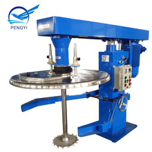 Industrial paint mixing machine high speed disperser