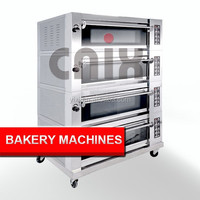 Bakery Equipment For Bread Deck Oven