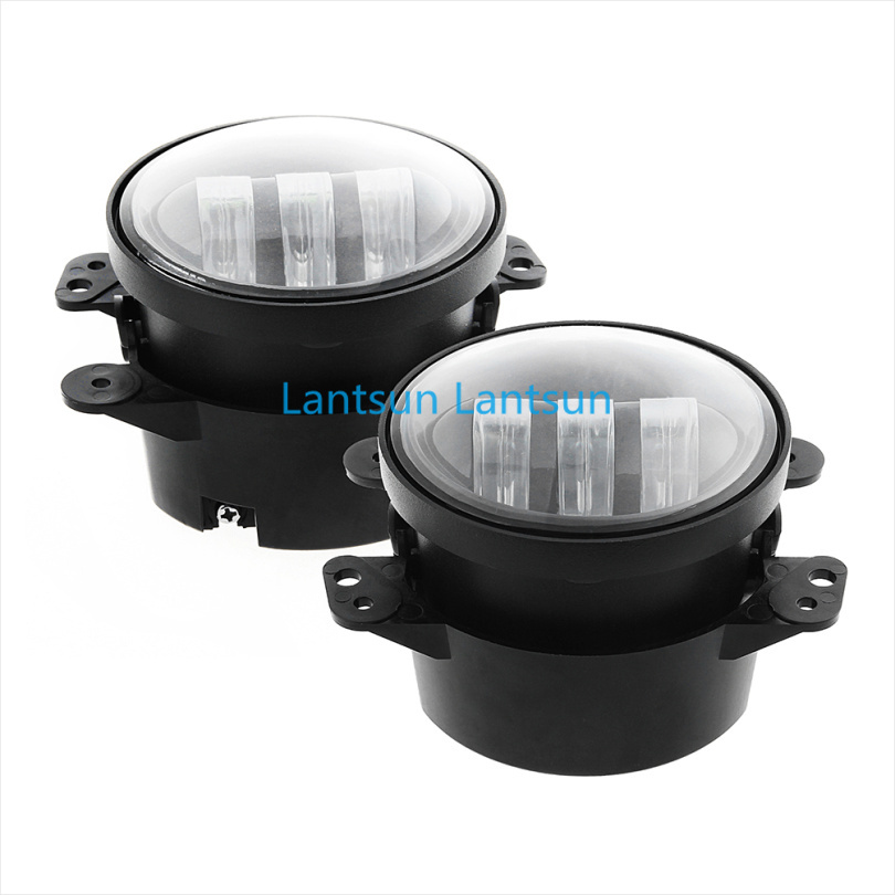 2015 30w 4inch fog light, led fog lamp for jeep wrangler, 4inch jeep led fog lights J023 Lantsun