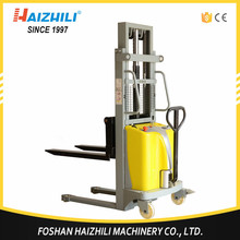 Factory directly semi electric super pedestrian stacker with bottom price