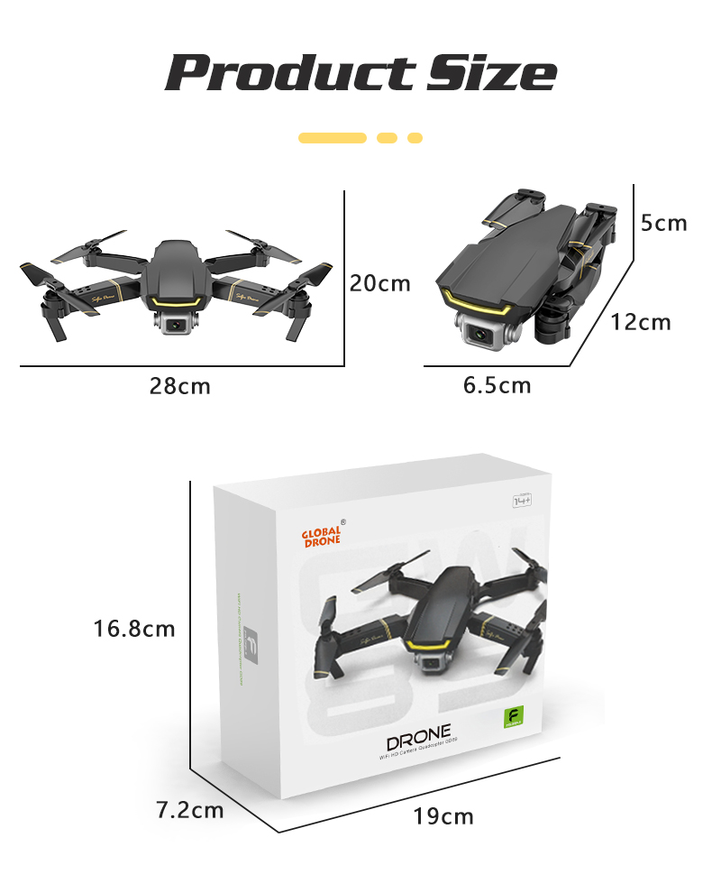 Global Drone D JI Phantom 4 Advanced Camera Drone FPV 4K Quadcopter Visual Tracking Follow Me Sport Mode Obstacle Sensing System