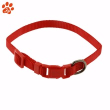 nylon flexible training dog collar for walking or running