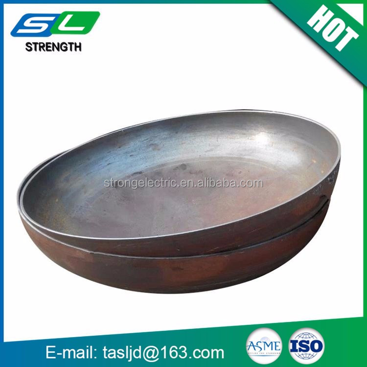 High quality weld custom design flat tank dish ends with perfect design