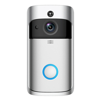 Doorbell Camera WiFi Front Door Camera with Doorbell Chime Battery Power Operated with Motion Detection