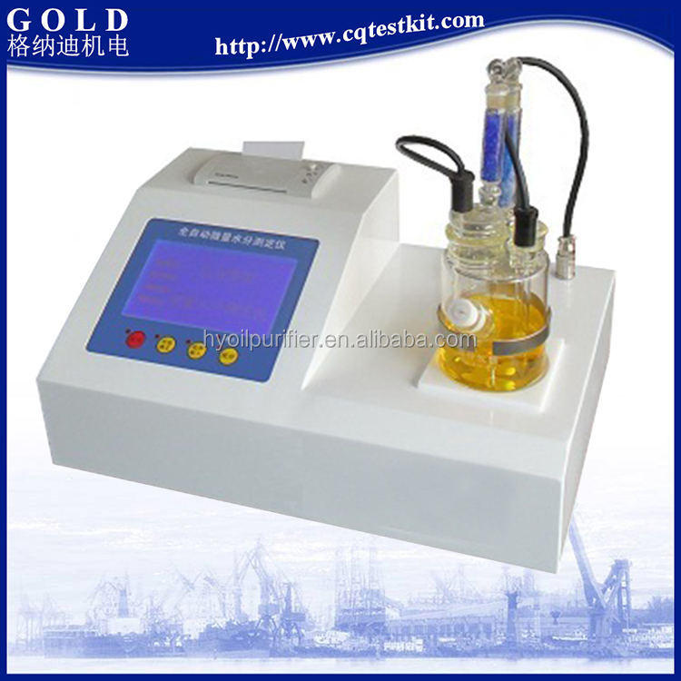 Automatic Trace Water Ingress Testing Equipment