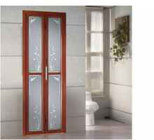 Aluminium bi folding door bi fold screen door