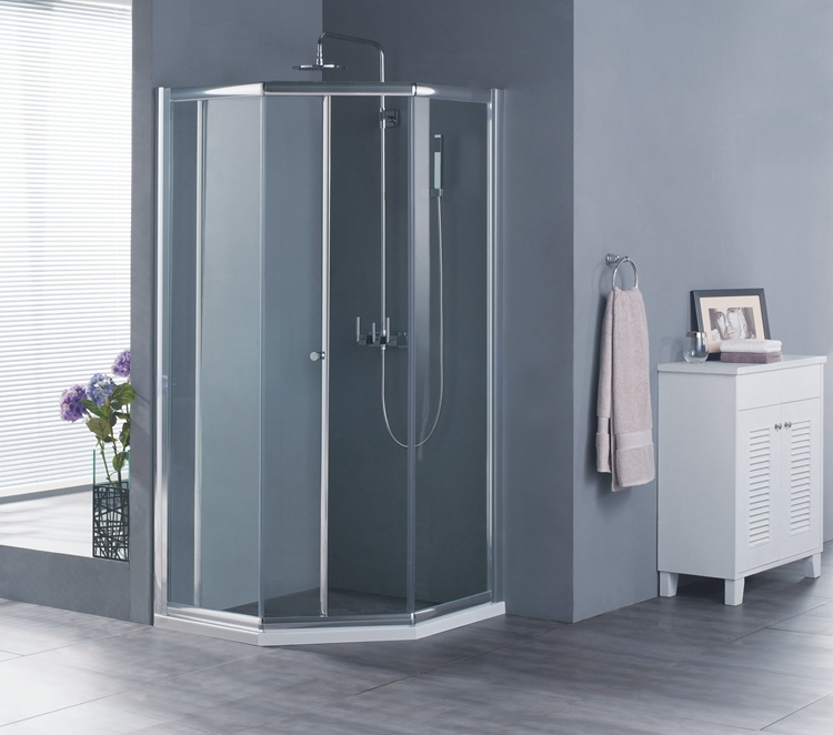 Luxury Quality Reasonable Price New Design Glass Partition For Shower