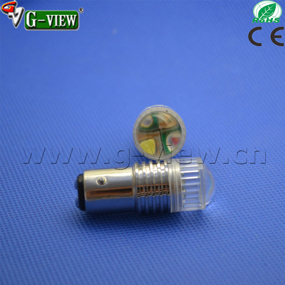 multicolors white+red/yellow,blue+red/yellow ect.New 20W auto Highpower switchback led bulbs 1157 7443 3157 double brakelamp