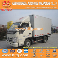 FOTON 4X2 mini truck 2000kg good quality van truck factory direct quality assurance