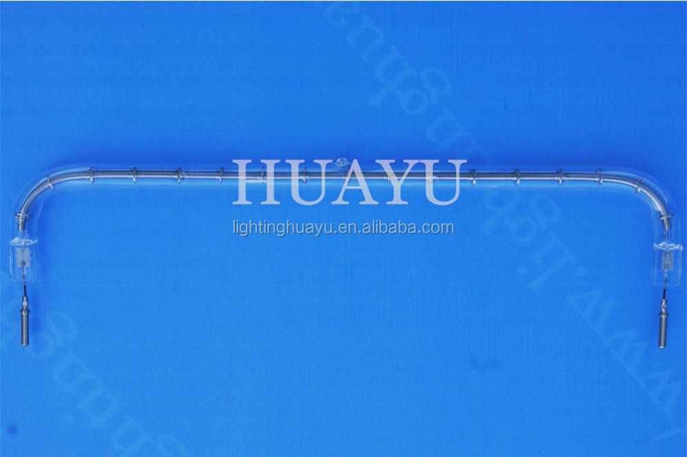 Nantong Huayu Short wave Infrared lamp tungsten halogen lamp 1000W