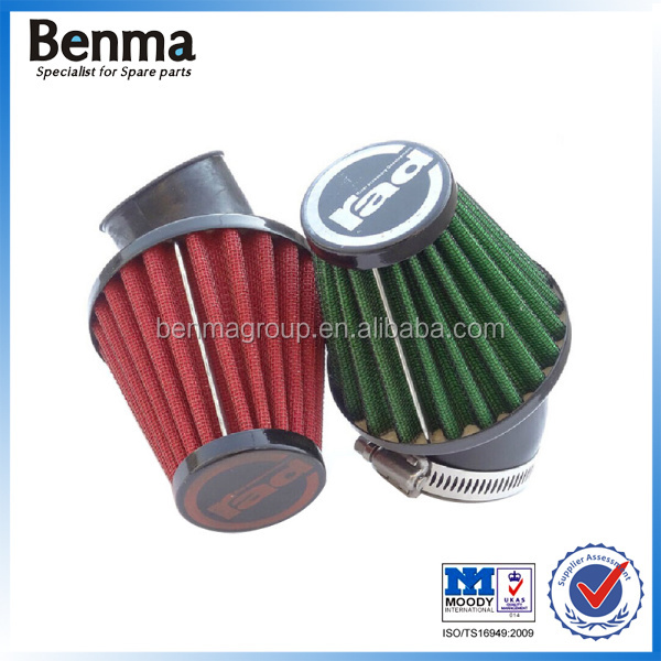 OEM quality motorcycle air filter sponge 35mm 43mm 45mm 48mm,OEM modify parts filter for motorcycle, Mushroom type air filter