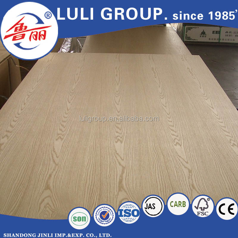 17mm natural red oak veneer MDF,laminated MDF board,mdf kitchen panel