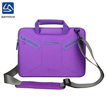 sannovo bulk Multi-functional purple neoprene 15 inch laptop bag women